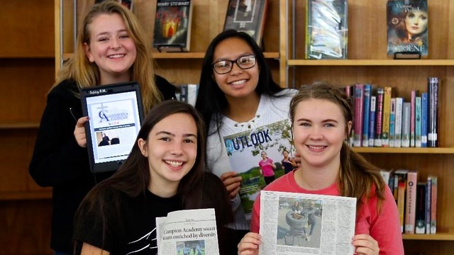 Journalism Students Get Campion Stories Published