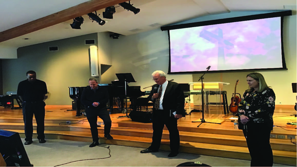 Littleton welcomes new pastors . . . at a distance, for now