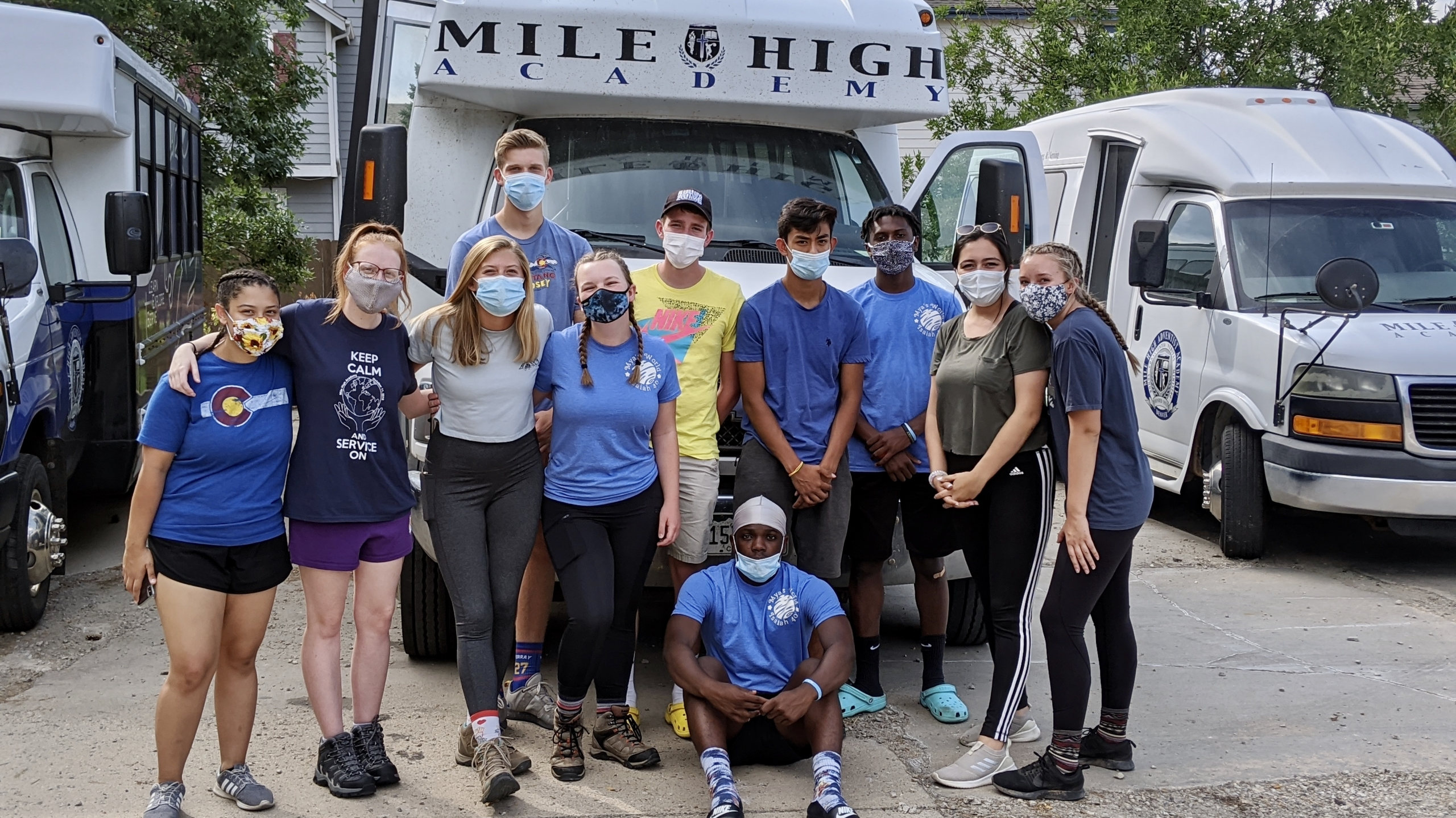 MOTHER NATURE TESTS ENDURANCE OF MHA STUDENTS DURING SENIOR SURVIVAL