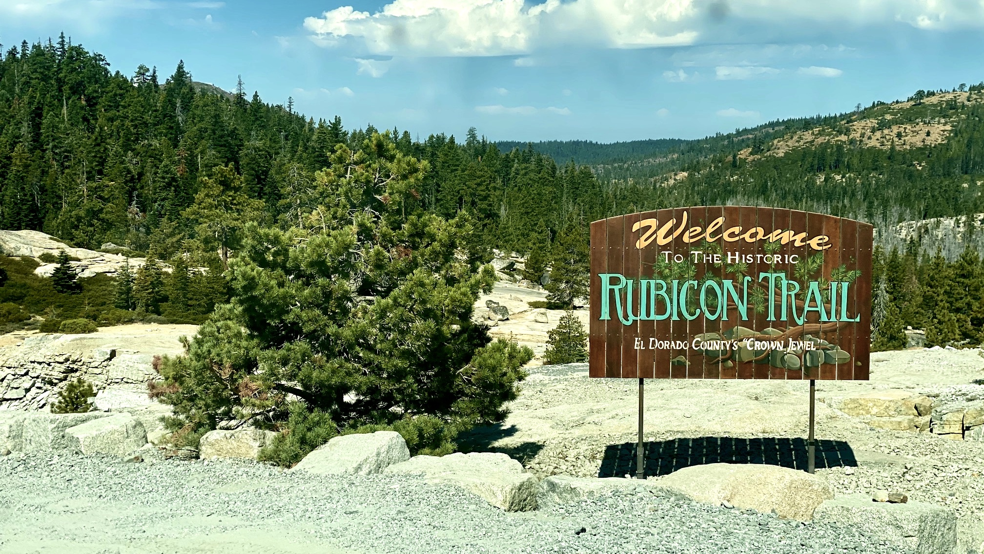 WYOMING: JEEPING TO THE RUBICON