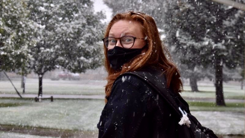 MASKS, SMOKE, SNOW: STUDENTS REACT TO THE 2020 NORMAL