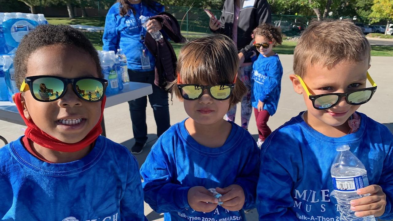 MHA STUDENTS WALK FOR FALL FUNDRAISER