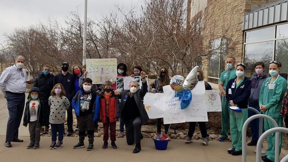 BAA students celebrate MLK Day with community service projects