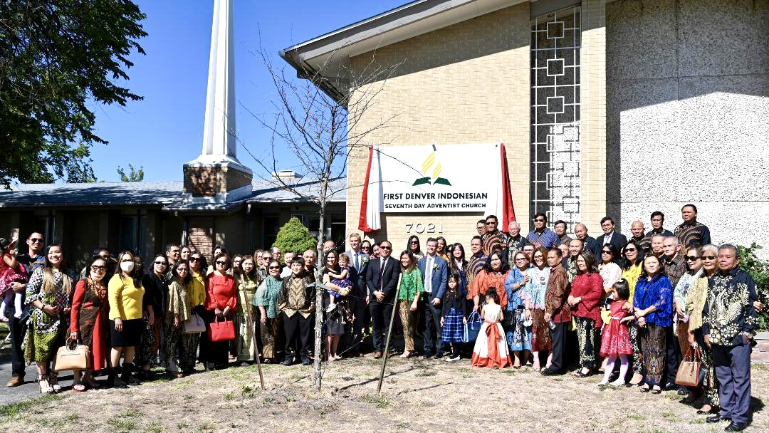 FIRST DENVER INDONESIAN CHURCH BUILDING CONSECRATED
